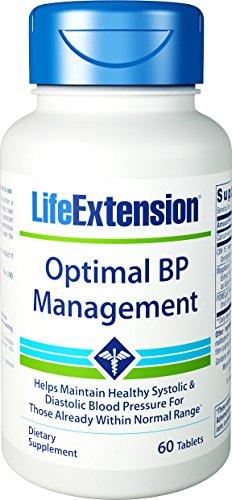 Life Extension Optimal BP Management, 60 Tablets