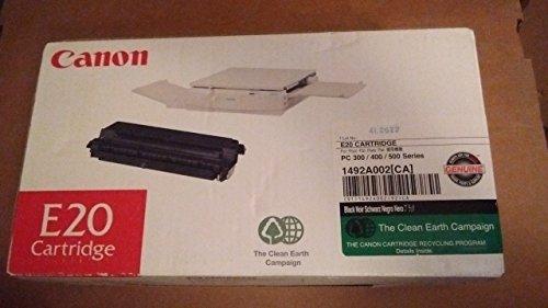 E20 Black Toner - Canon E20 Toner Cartridge, Black - in Retail Packaging
