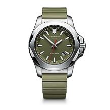 Victorinox Men's 241683.1 I.N.O.X. Analog Display Swiss Quartz Green Watch