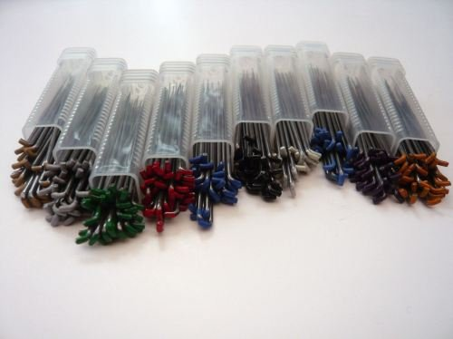 30 Mixed Felting Needles - 10 Different types - Triangular, Star, Reverse and Twisted Needles ()