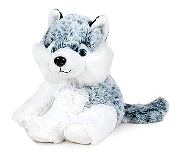 Famosa Softies - Animales domésticos, husky, 32 cm, gris 760010024: Amazon.es: Juguetes y juegos