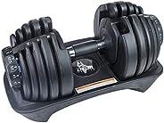 Dem Weightz - Mancuerna Ajustable (26 kg) para Gimnasio y Entrenamiento Personal, una mancuerna