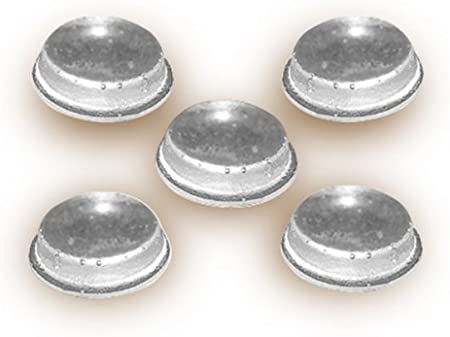 Pkg//50 National Artcraft Clear Polyurethane Bumper Pads with Adhesive Back Protect and Cushion Surfaces