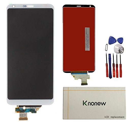 KNONEW Glass LCD Display Touch Screen Digitizer Assembly Replacement part For LG G6 H870 H871 H872 LS993 VS998 US997 LCD + Tools (White) by SCREENHOME (Image #4)