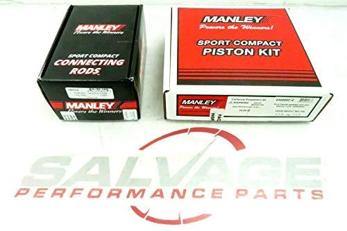 Manley 630005C-4 88MM Pistons & 14032-4 H-Beam Rods MAZDASPEED Mazda 3 6 Speed