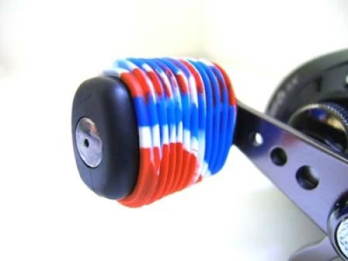 Reel Grip 1144 Reel Handle Cover, Patriotic Tie Dye Finish (Fishing Reel Handle Grips)