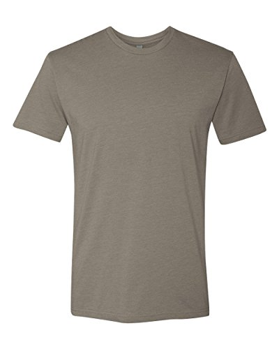 Next Level Apparel N6210 Mens Premium CVC Crew - Warm Gray, Large