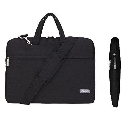 Laptop Shoulder sleeve,Animov Multi-functional Laptop Shoulder Bag Briefcase Case for 12.9 iPad Pro/ 13.3 Inch Laptop/ Notebook Computer/ MacBook Air/ MacBook Pro / Macbook Pro retina display - Purple