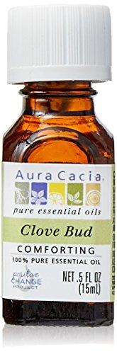 Price comparison product image Aura Cacia 100% Pure Essential Oils - Clove Bud - 0.5 oz