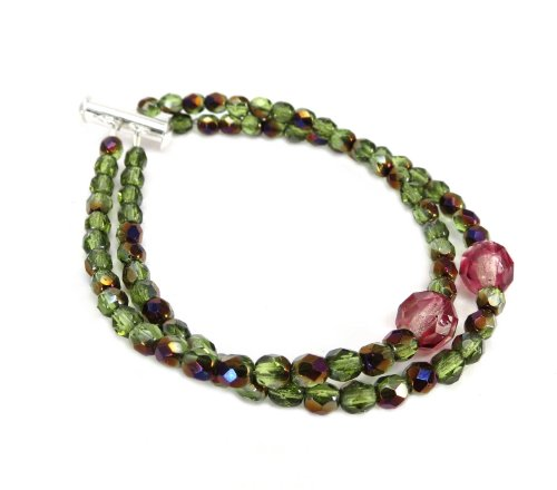 - Mode Beads Coolwery Allure Jewelry Kit, Pink/Green