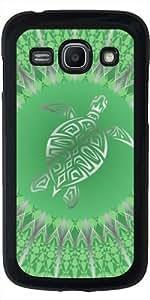 Funda para Samsung Galaxy ACE 3 S7272/A7275 - Animales Tortuga Verde Plata by Nina Baydur