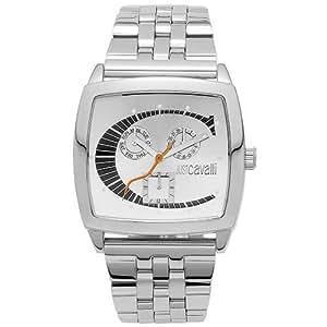 Just Cavalli Screen R7253915025 - Reloj de mujer de cuarzo, correa de acero inoxidable color plata