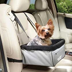 Guardian Gear Sightseer II Car Seats — Practical Car Seats for Dogs - Large, Slate