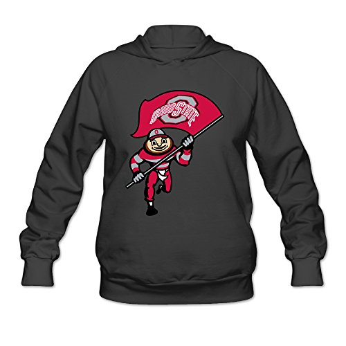 DVPHQ Women's Superior Ohio State Buckeyes Football Sweater Size XXL (The Outsiders Halloween Costumes)
