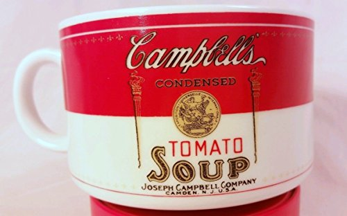 Vintage Campbell's Condensed Tomato Soup Mug Historical Labels By Westwood 1994