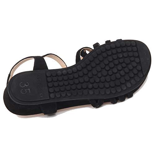 Black Donna Betis Suede Scarpe Nero F0978 Unisa Sandalo Shoe Woman EqvfPpHtc