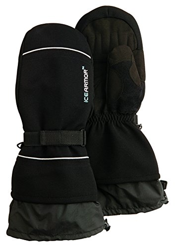ICE ARMOR 8524 150gm Thinsulate Waterproof Mitts, Black, X-Large