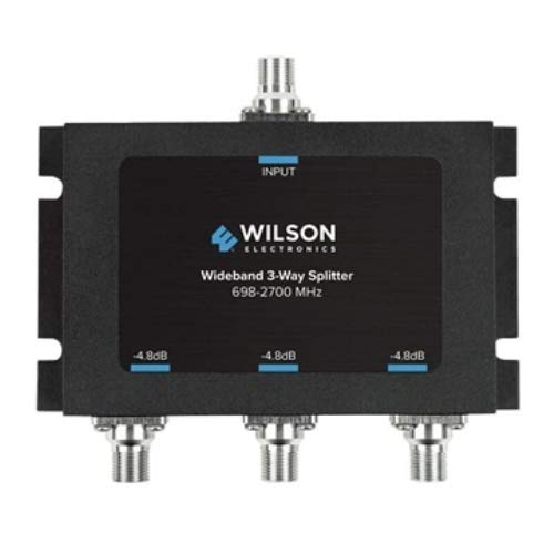 Wilson Electronics 3 Way 75 Ohm Splitter -4.8 dB (F-Female) 850035 by Wilson Electronics