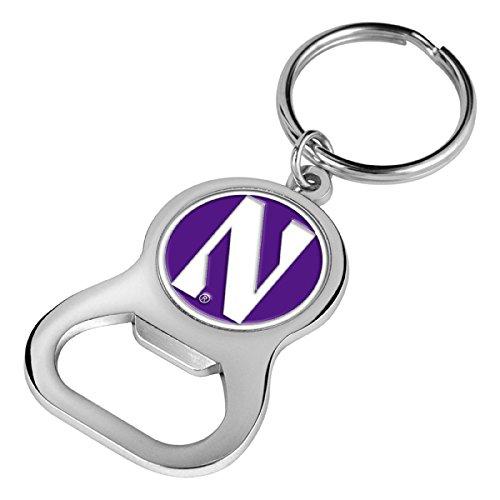 (NCAA Northwestern Wildcats - Key Chain Bottle Opener)