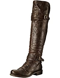 Women's Curl Up Motorcycle Boot