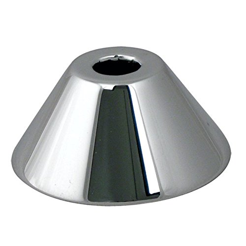 - WestBrass D1281 Polished Chrome 5/8 in. OD (1/2 in. Nominal) Bell Pattern Sure G