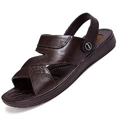 SHOES-XJIH&Zapatillas Unisex Flip-Flops par de zapatos de suela ligera tul verano otoño casual azul ligero rubor rosa fucsia Azul Gris 1A-1 3/4in,Negro,US8 / UE40 / UK7 / CN41