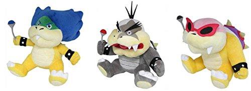 Sanei Set of 3 - Ludwig/ Morton Jr/ Roy Koopa Stuffed Plush