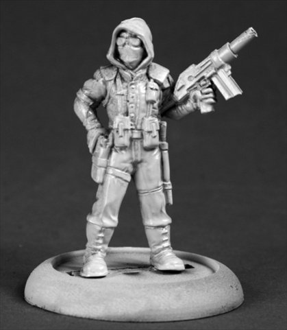 Reaper Miniatures 50299 Chrono Post Apocalyptic Hunter