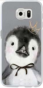 Galaxy S6 Case Dseason Samsung Galaxy S6 Hard Case, High Quality Fashionable Protector Cartoon penguin