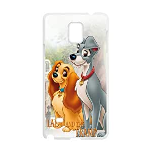 Lady and the tramp Cell Phone Case for Samsung Galaxy Note4 WANGJING JINDA