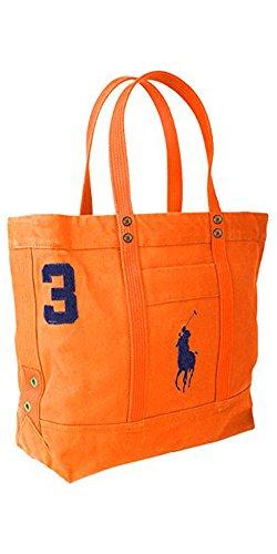 Polo Ralph Lauren Big Pony Tote Bag Orange ()