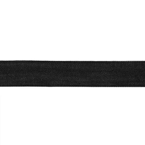 Silk Bias Tape (Hug Snug 1/2'' Rayon Seam Binding Black/100 YDS)