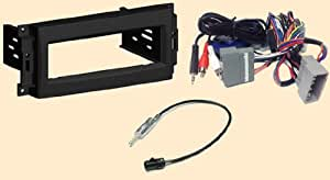 radio stereo install single din dash kit steering. Black Bedroom Furniture Sets. Home Design Ideas