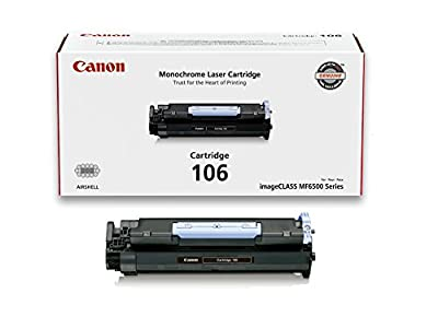 Canon Original 106 Toner Cartridge - Black