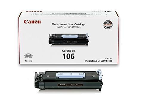 Canon Original 106 Toner Cartridge - Black (Canon Imageclass Mf6540 Toner)