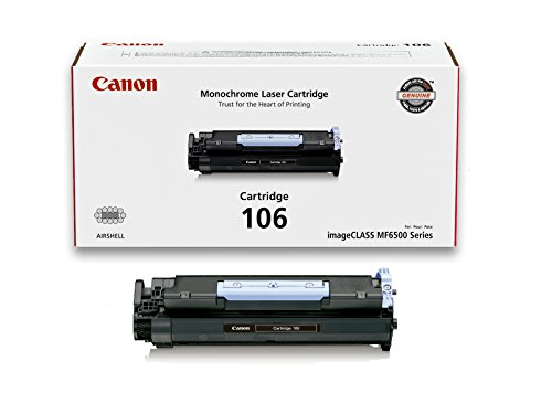 Canon Original 106 Toner Cartridge - Black by Canon