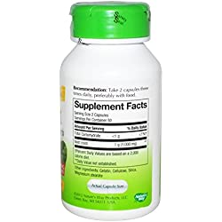 Nature's Way Beet Root Powder Capsules 500 Mg, 100-count (100 X 3)