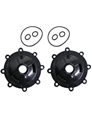 ATIE Neverlube Valve Cap 4606 with Valve O-ring 1132 and Shaft O-ring R0487100 Replacement For Zodiac Jandy 3-Way Valve Neverlube Valve Cover 4606 (2 Pack)