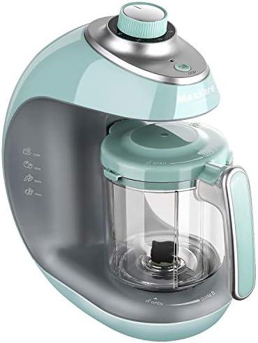 MaxKare - Cocina al vapor 5 en 1 para bebés, con vapor, mezcla ...