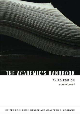 The Academic's Handbook -