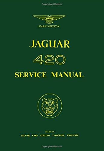 Jaguar 420 WSM (Official Workshop Manuals)