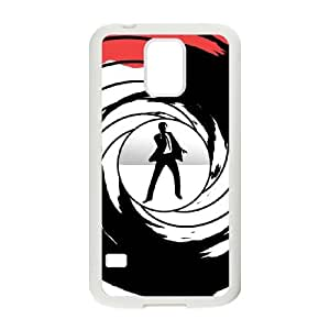 007 James Bond 007 Samsung Galaxy S5 Cell Phone Case White Customized Toy pxf005-7817529