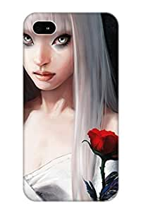 6a51e902811 3d Digital Art Durable Iphone 4/4s PC Flexible Soft Case With Design WANGJIANG LIMING