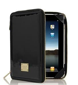 Michael Kors Jet Set Apple iPad Patent Leather Case -Black-