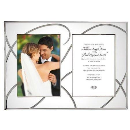 Lenox Bridal Adorn Double Invitation (Frame Giftware)