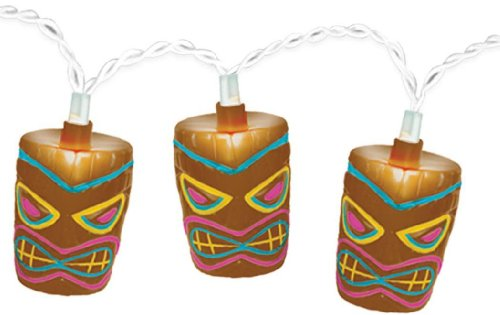 Tropical Tiki String Lights -