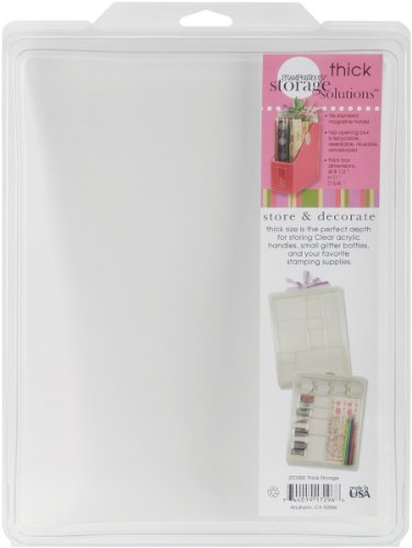 STAMPENDOUS Thick Storage Solutions 8-1/2-Inch by 11-Inch by .63-Inch by STAMPENDOUS (Image #1)