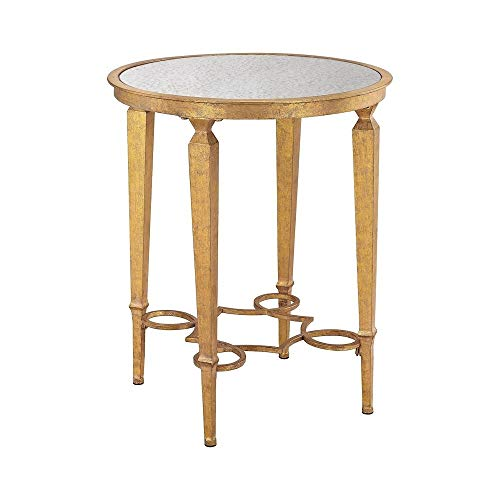 Alcazar Furniture - Sterling Home 351-10235 Alcazar Accent Table, Gold