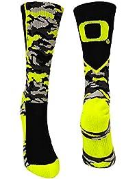 Oregon Ducks Camo Crew Socks