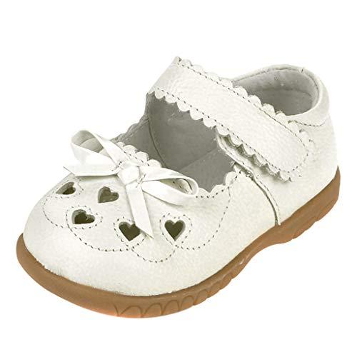 Beauty&YOP Girls' Sandal Soft Soles Infant Baby Girls Sandals Flower Non-Slip Soft Rubber Sole Summer First Walker Shoes Toddler Little Girls Summer Flower Sandals